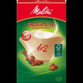 Melitta Kaffeefilter 1x2 Original 80 Stück