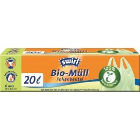 Swirl Bio-Müll Folienbeutel 20L