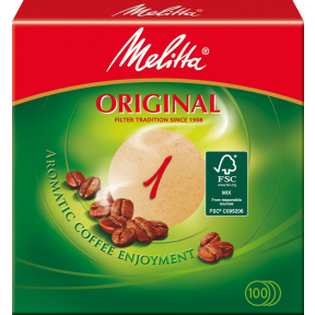Melitta Rundfilter Original 100 Stück
