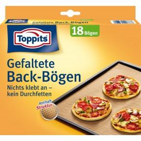 Toppits Gefaltete Back-Bögen 18 Stück