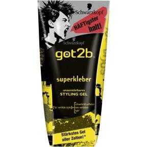 Schwarzkopf got2b Superkleber - unzerstörbares Styling Gel