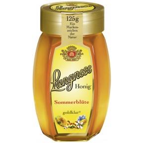 Langnese Sommerblüten goldklar Honig klein 125 g