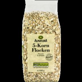 Alnatura Bio 5-Kornflocken 500 g