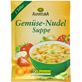 Alnatura Bio Gemüse-Nudel Suppe 40 g