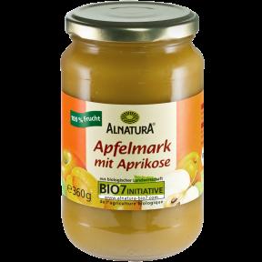 Alnatura Bio Apfelmark mit Aprikose 360 g