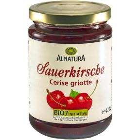 Alnatura Bio Fruchtaufstrich Sauerkirsche 420 g