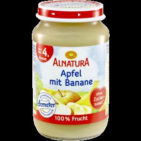 Alnatura Bio Apfel mit Banane ab 4. Monat