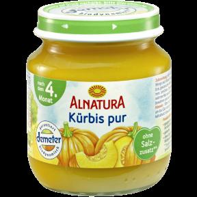 Alnatura Bio Kürbis pur, nach dem 4. Monat