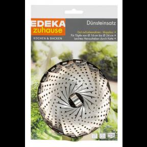 EDEKA zuhause Dünsteinsatz für Töpfe Durchmesser von 16 cm bis 24 cm