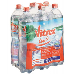 Vitrex Mineralwasser Classic PET 6x 1,5 ltr