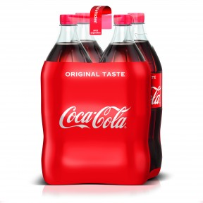 Coca-Cola Coke PET 4x 1,5 ltr