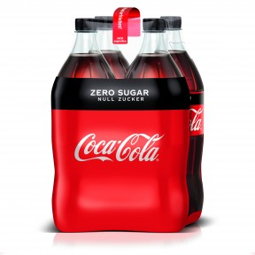 Coca-Cola Coke Zero PET 4x 1,5 ltr