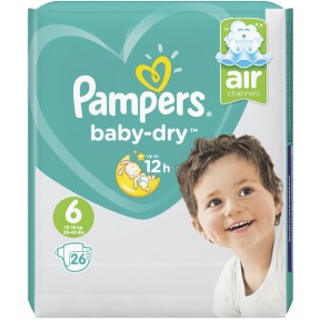 Pampers Baby-Dry Windeln Gr. 6 13-18kg