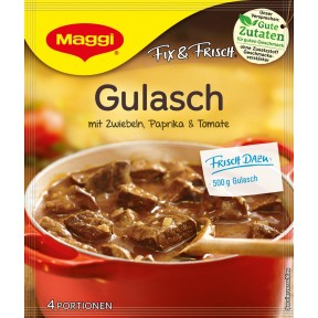 Maggi Fix & Frisch Fix für Gulasch