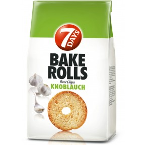 7 Days Bake Rolls Knoblauch 250 g