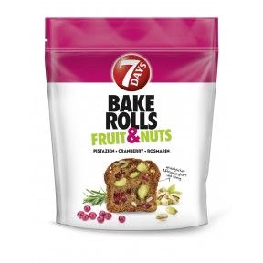 7 Days Bake Rolls Fruit & Nuts 80 g