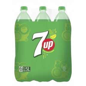 Pepsi 7Up PET 6x 1,5 ltr