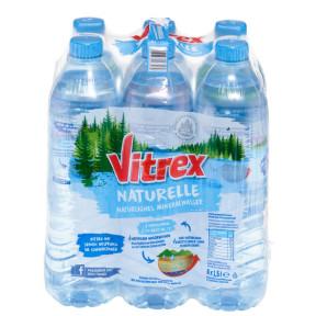 Vitrex Mineralwasser Naturelle PET 6x 1,5 ltr