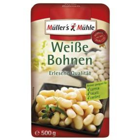 Müller's Mühle Weiße Bohnen 500 g