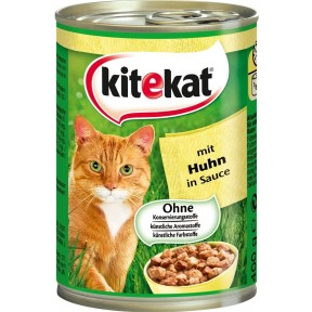 Kitekat mit Huhn in Sauce Katzenfutter nass 0,4 kg