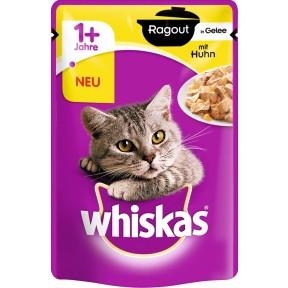 Whiskas 1+ Ragout in Gelee mit Huhn Katzenfutter nass Beutel