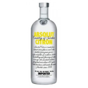 Absolut Vodka Citron 0,7 ltr