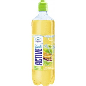 Adelholzener Active Fresh Apfel Orange Maracuja 0,75 ltr PET