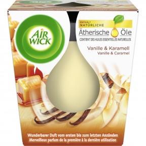 Airwick Wohlfühl-Duftkerze Vanille & Karamell 1 Stk