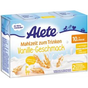 Alete Mahlzeit zum Trinken Vanille ab dem 10. Monat