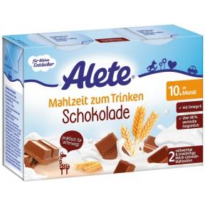 Alete Mahlzeit zum Trinken Schokolade ab dem 10. Monat