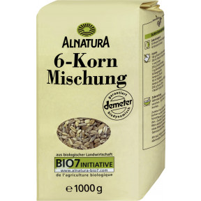 Alnatura Bio 6-Korn-Mischung 1KG