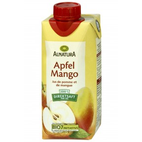 Alnatura Bio Apfel Mango 100% Direktsaft klein