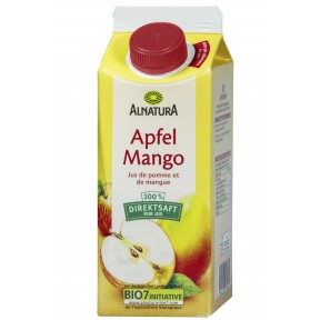 Alnatura Bio Apfel Mango 100% Direktsaft