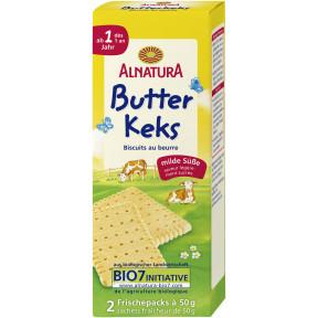 Alnatura Bio Butterkeks 2x 50 g