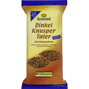 Alnatura Bio Dinkel Knusper Taler Vollmilch 100G