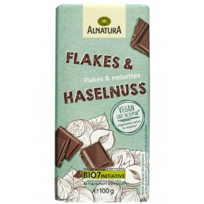 Alnatura Bio Flakes & Haselnuss Schokolade