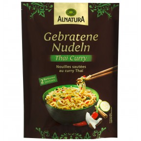 Alnatura Bio Gebratene Nudeln Thai Curry 125 g