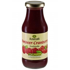 Alnatura Bio Himbeer-Cranberry Fruchtsauce