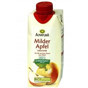 Alnatura Bio Milder Apfelsaft naturtrüb 0,33 ltr