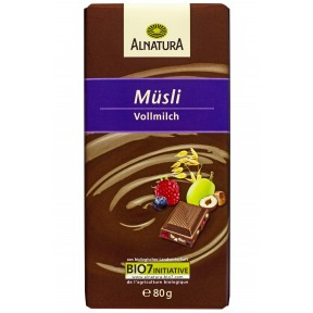 Alnatura Bio Müsli Vollmilch Schokolade