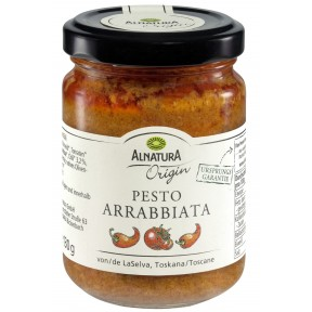 Alnatura Origin Bio Pesto Arrabbiata 130G