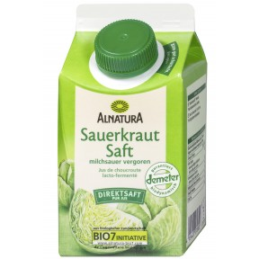 Alnatura Bio Sauerkraut Saft 0,5 ltr