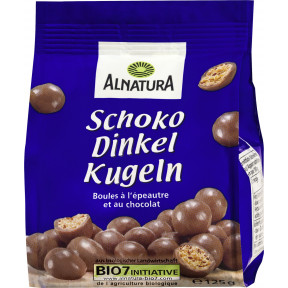 Alnatura Bio Schoko Dinkel Kugeln 125G