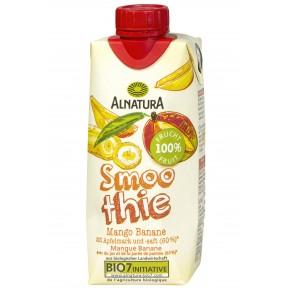 Alnatura Bio Smoothie Mango Banane 0,33 ltr