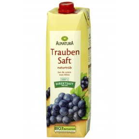 Alnatura Bio Traubensaft 1 ltr