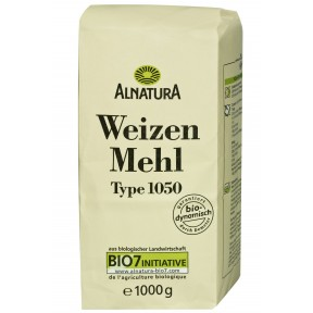 Alnatura Bio Weizenmehl Typ 1050 1 kg