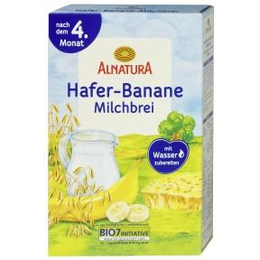 Alnatura Bio Hafer-Banane Milchbrei nach dem 4. Monat