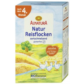 Alnatura Bio Natur Reisflocken nach dem 4. Monat