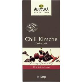 Alnatura Sélection Bio Chili Kirsche Schokolade 100 g