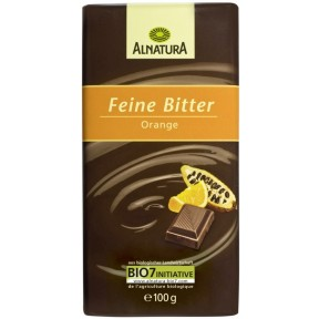 Alnatura Bio Feine Bitter Orange Schokolade 100 g